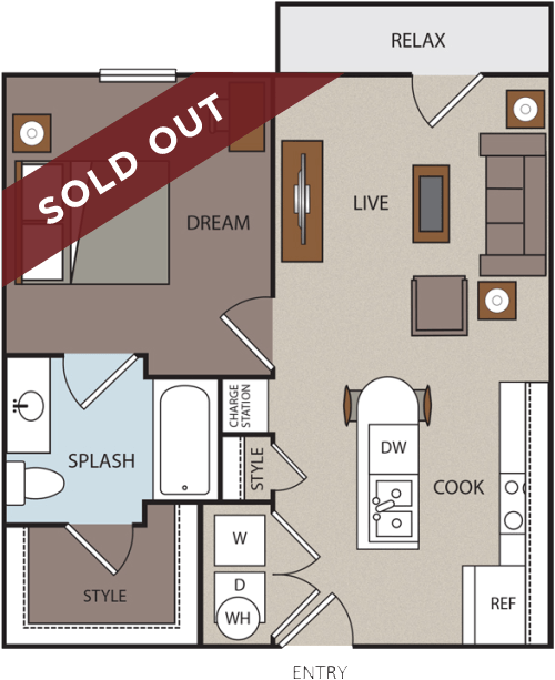 The A1 floor plan is Sold Out