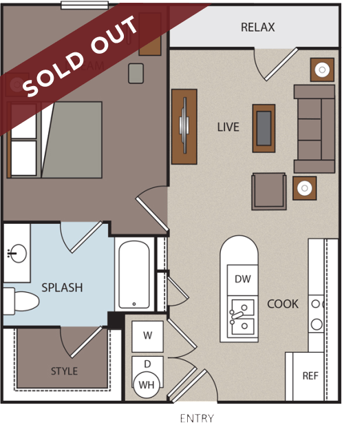 The A1-A floor plan is sold out.